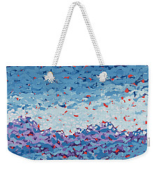 Abstract Landscape Painting 1 Weekender Tote Bag