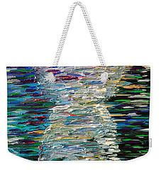 Abstract Latte Stone Weekender Tote Bag