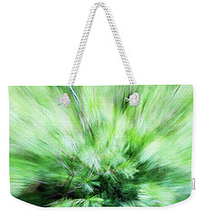 Weekender Tote Bag featuring the photograph Abstract Leaves 7 by Rebecca Cozart