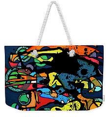 Abstract Man  Weekender Tote Bag