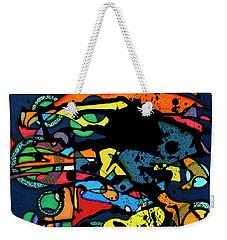 Abstract Man  Weekender Tote Bag