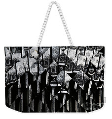 Abstract Matrix Weekender Tote Bag by Michal Boubin