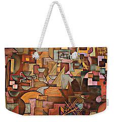 Abstract Mind Weekender Tote Bag