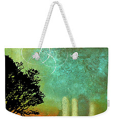 Abstract Modern Art Eternity Weekender Tote Bag