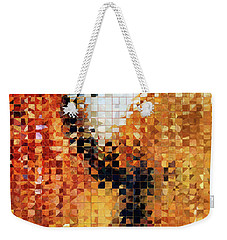 Abstract Modern Art - Pieces 8 - Sharon Cummings Weekender Tote Bag by Sharon Cummings
