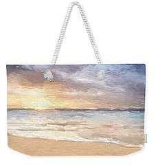 Abstract Morning Tide Weekender Tote Bag
