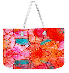 Abstract Mosaic On Canvas Weekender Tote Bag