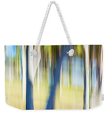 Abstract Moving Trees 30 Weekender Tote Bag
