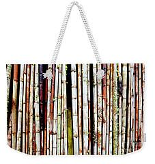 Abstract Nature Bamboo Shoots Photo 806 Weekender Tote Bag