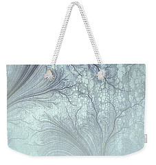 Weekender Tote Bag featuring the digital art Abstract No 21 by Robert G Kernodle