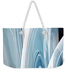 Weekender Tote Bag featuring the digital art Abstract No 23 by Robert G Kernodle