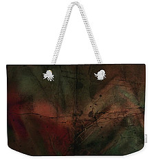 Weekender Tote Bag featuring the painting Abstract Nude 4 by Jim Vance
