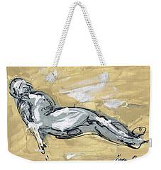 Abstract Nude Weekender Tote Bag