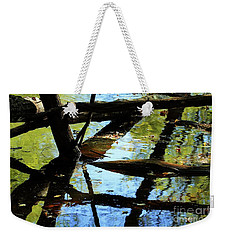 Abstract Of St Croix River 03 Weekender Tote Bag