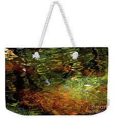 Abstract Of St Croix River 04 Weekender Tote Bag by Jimmy Ostgard