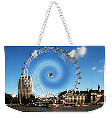 Abstract Of The Millennium Wheel Weekender Tote Bag