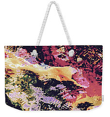 Abstract Of Water With Koi Weekender Tote Bag by Tim Good