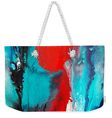 Abstract On Words Weekender Tote Bag