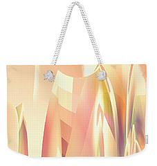 Abstract Orange Yellow Weekender Tote Bag by Robert G Kernodle