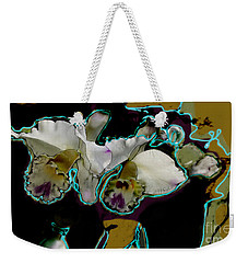 Abstract Orchids Weekender Tote Bag