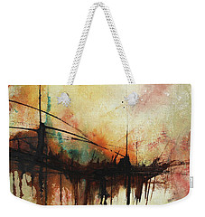 Abstract Painting Contemporary Art Weekender Tote Bag