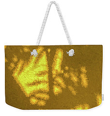 Abstract Palm Weekender Tote Bag