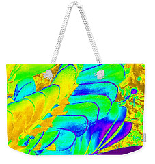 Abstract Plant Weekender Tote Bag by Karen J Shine
