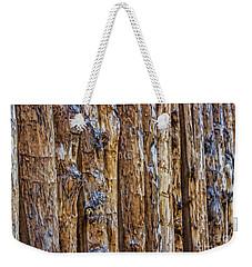 Abstract Posts Weekender Tote Bag