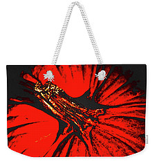 Abstract Pumpkin Stem Weekender Tote Bag