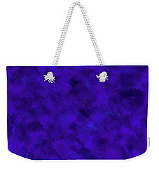 Weekender Tote Bag featuring the photograph Abstract Purple 7 by Clare Bambers