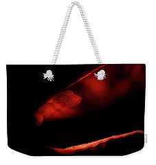 Abstract Red Weekender Tote Bag
