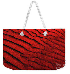 Abstract Red Sand- 2 Weekender Tote Bag