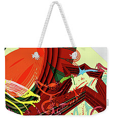 Abstract Rhetoric Weekender Tote Bag