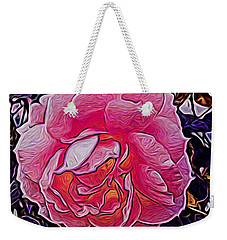 Abstract Rose 11 Weekender Tote Bag