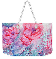 Abstract Roses Weekender Tote Bag