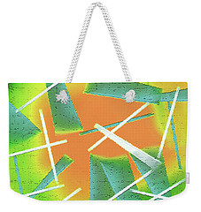 Abstract - Saws Weekender Tote Bag by Lenore Senior