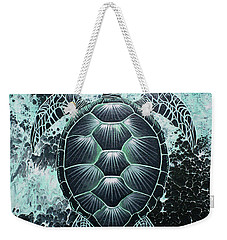 Abstract Sea Turtle Weekender Tote Bag