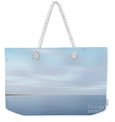 Weekender Tote Bag featuring the photograph Abstract Seascape by Ivy Ho