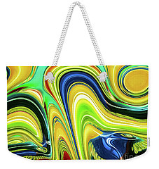 Abstract Series 153240 Weekender Tote Bag