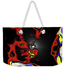 Abstract Shell Creature Weekender Tote Bag by Gina O'Brien