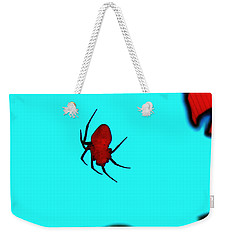 Abstract Spider Weekender Tote Bag