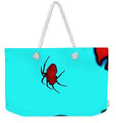 Abstract Spider Weekender Tote Bag