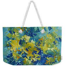 Abstract Spring Weekender Tote Bag