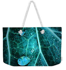 Aqua Abstract Storm In New Orleans Louisiana Weekender Tote Bag