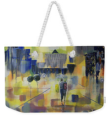 Abstract Stroll Weekender Tote Bag