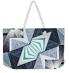 Abstract Structural Collage Weekender Tote Bag