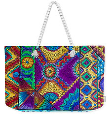 Abstract Study 2 Weekender Tote Bag by Megan Walsh
