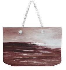 Abstract Sunset In Brown Reds Weekender Tote Bag