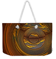 Abstract Sunset Weekender Tote Bag by Lyle Hatch