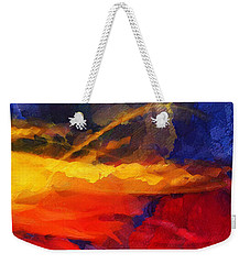 Abstract - Throw  Weekender Tote Bag